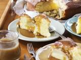 Pear and cinnamon cake