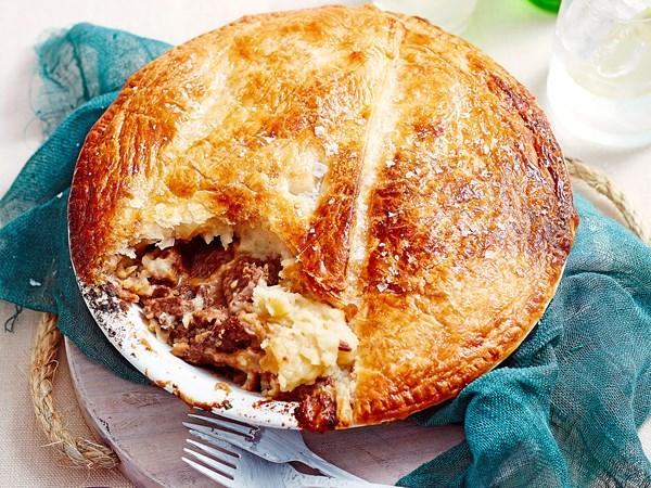 Steak Diane pie