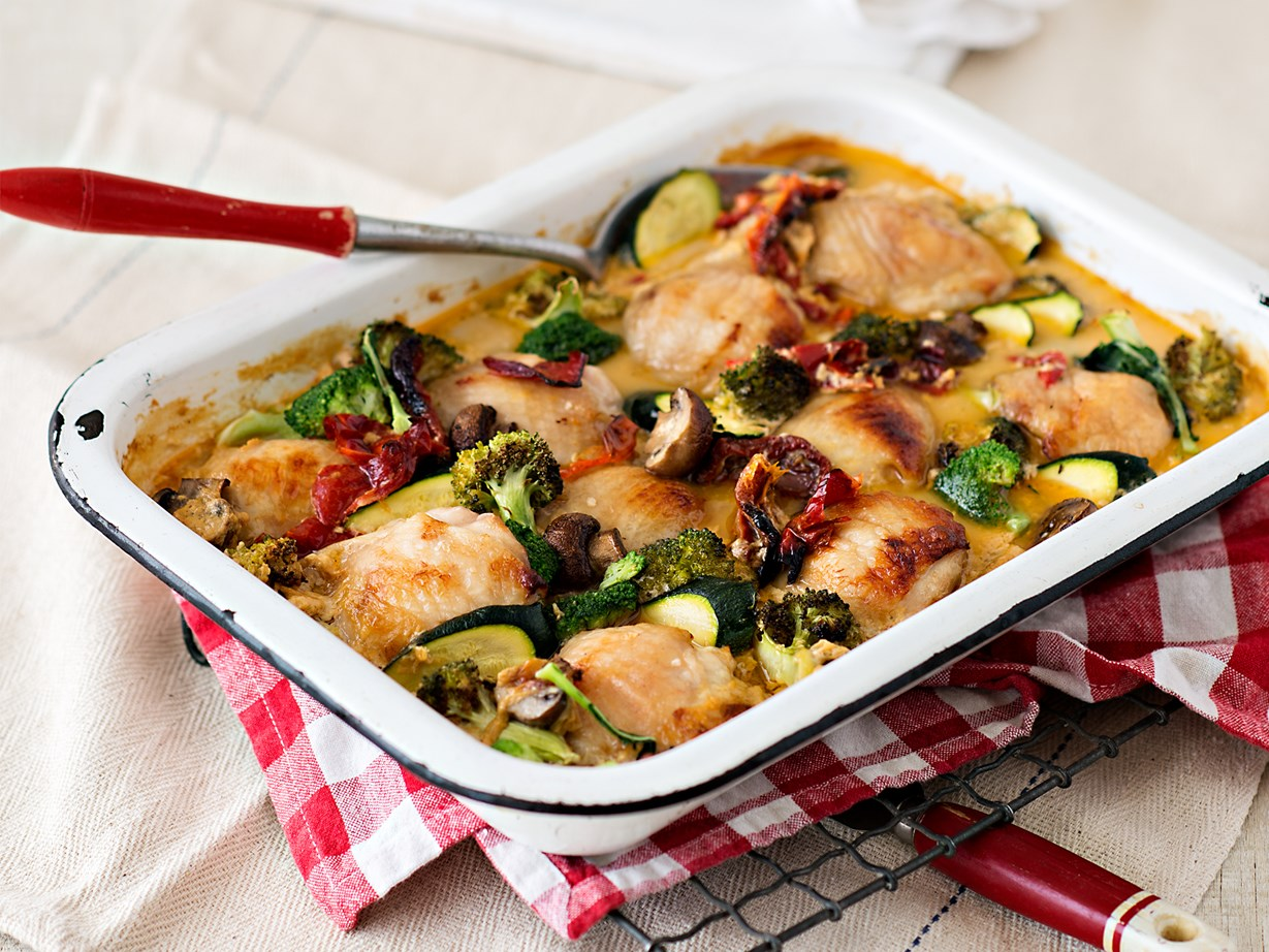 Creamy Oven Baked Chicken And Vegetable Casserole Recipe Food To Love