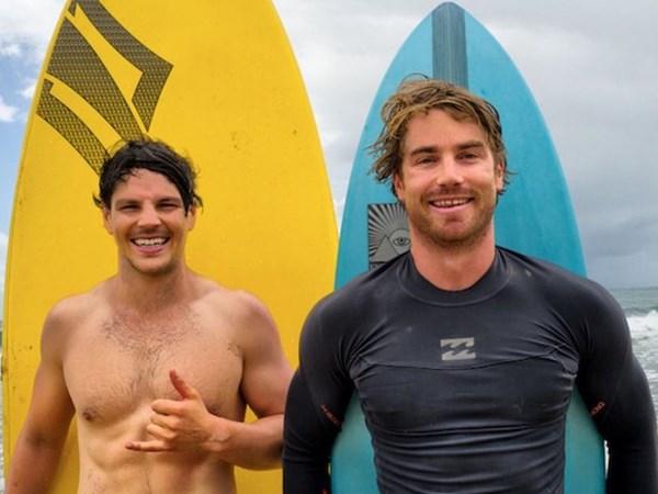 Banter, beach and a little bit of cheek: Dan & Hayden take Australia