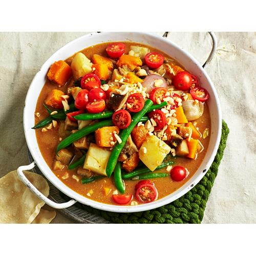 Pumpkin and eggplant massaman curry recipe | Food To Love