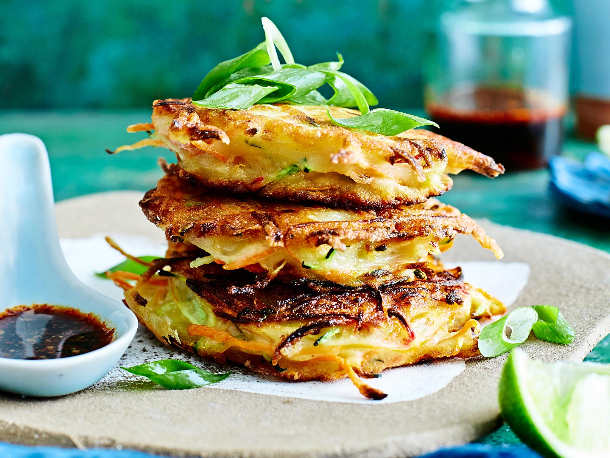 Veggie Pancake Recipe advise