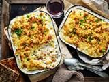 Crunchy macaroni and cheese