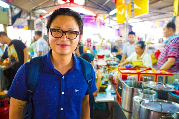 Luke Nguyen's shares his tips for creating Asian street food at home