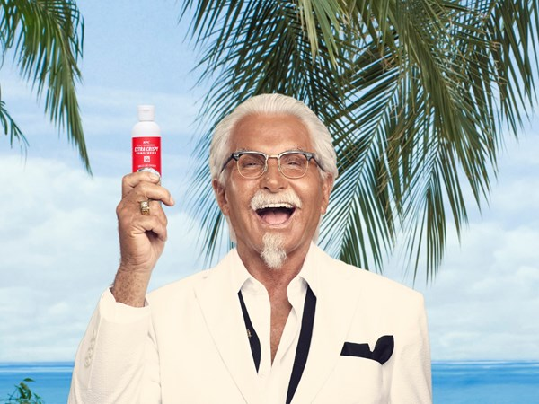 KFC has released a fried chicken-scented sunscreen