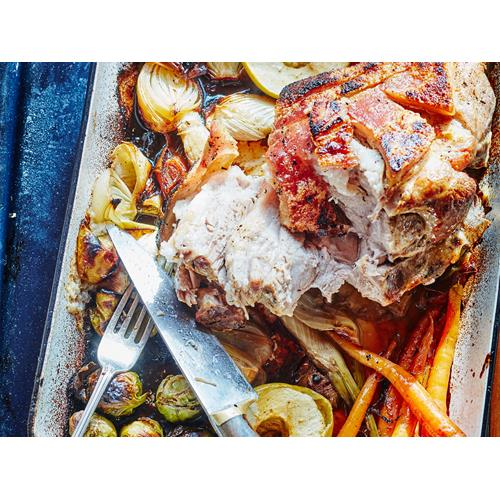 Slow-Roasted Pork Shoulder With Fennel And Orange Recipe ...