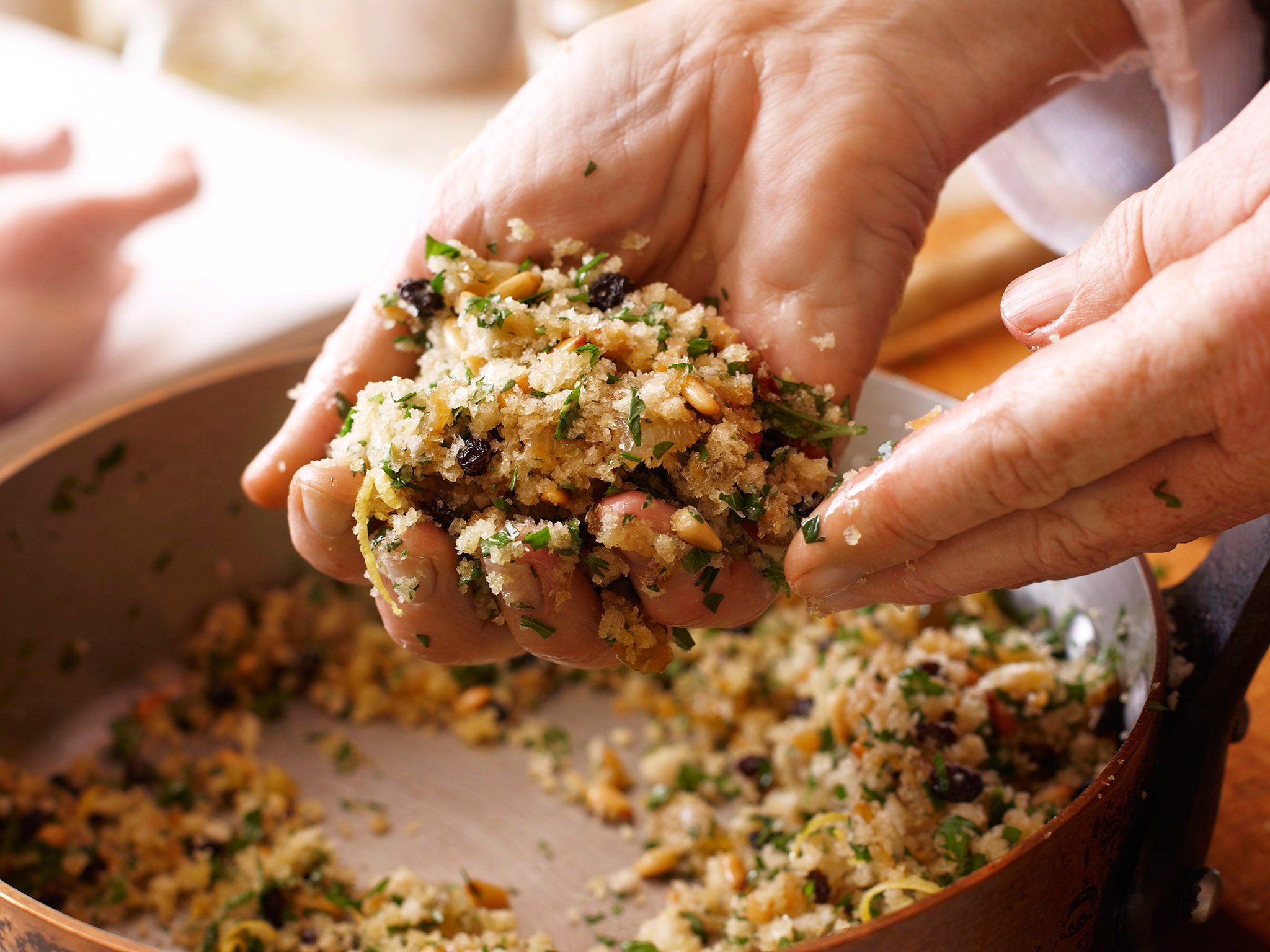 Homemade stuffing can be frozen - just simply defrost on Xmas eve.