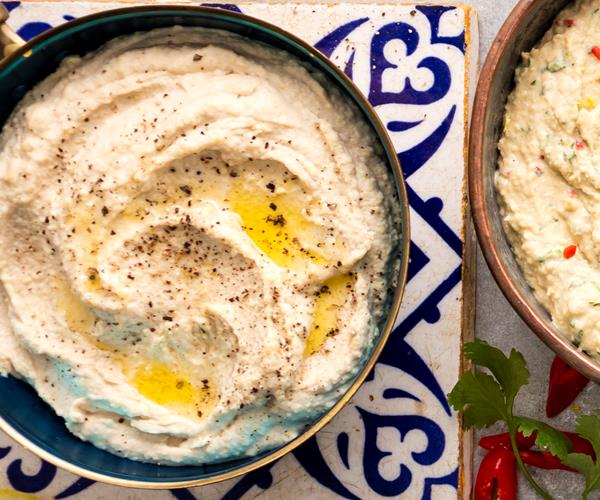 Basic Hummus Recipe for a Easy and Healthy Dip recipe ...