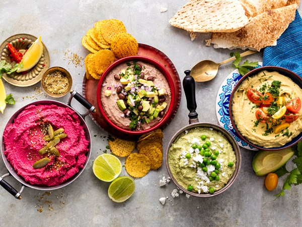 10 delicious hummus recipes for entertaining