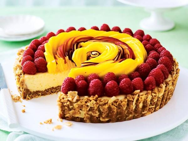 Frutti tutti lemon tart