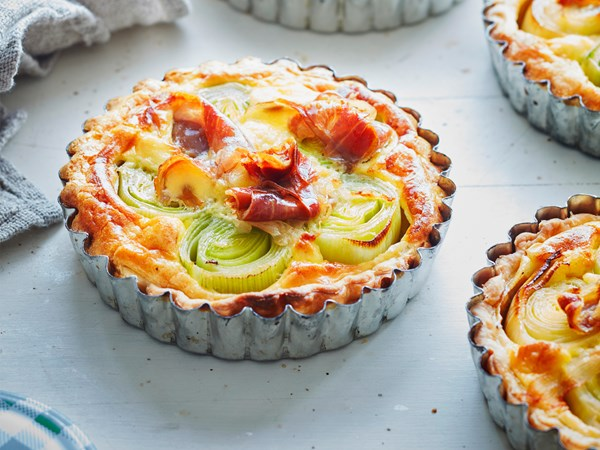 These tarts are easy to make and yet quite spectacular