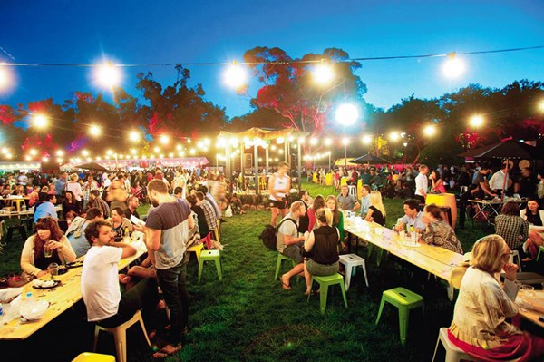Sydney Night Noodle Markets on all month in Hyde Park