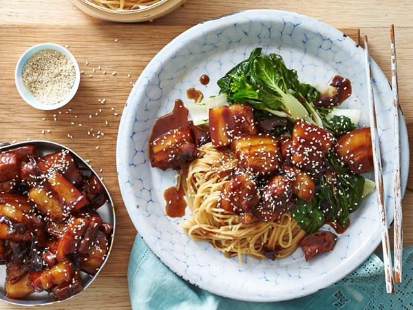 Easy caramel pork