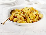 Parmesan garlic potato chunks