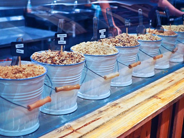 Sydney's first personalised crumble dessert bar has opened