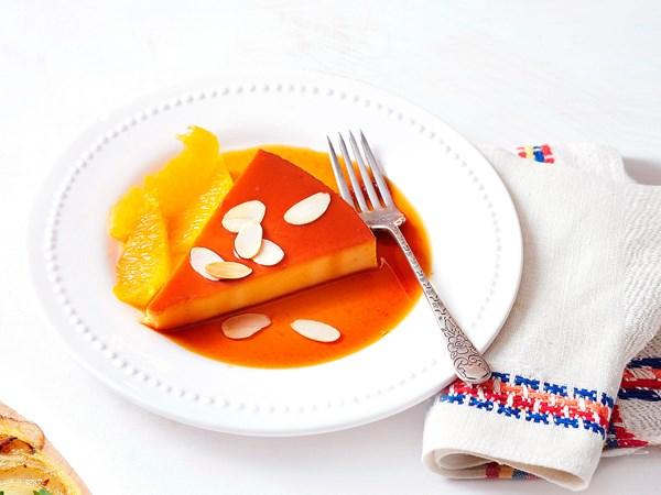 Easy orange creme caramel