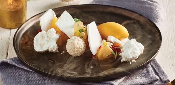 MasterChef's Reynold Poernomo's 'Christmas in summer' dessert