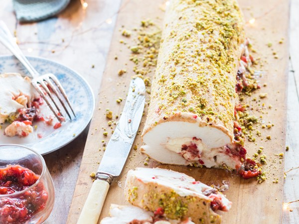 Christmas roulade