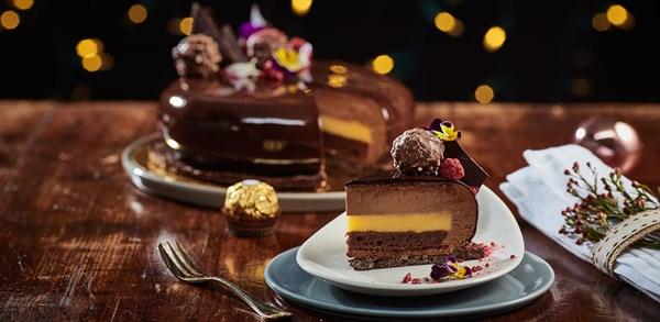 MasterChef's Reynold Poernomo's 'golden Christmas' dessert