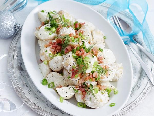 Quick and easy potato salad