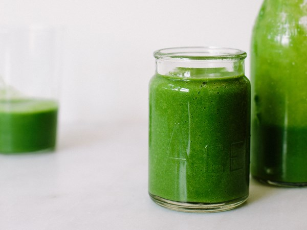 My Darling Lemon Thyme's green goddess smoothie
