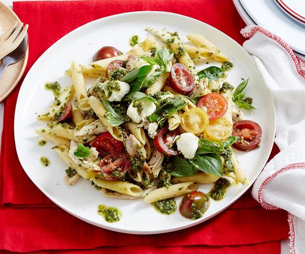 Caprese Chicken Pasta Salad recipe | Food To Love