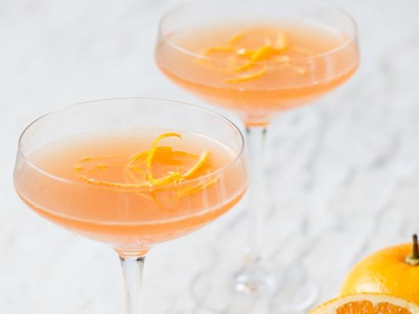 Citrus royale cocktail