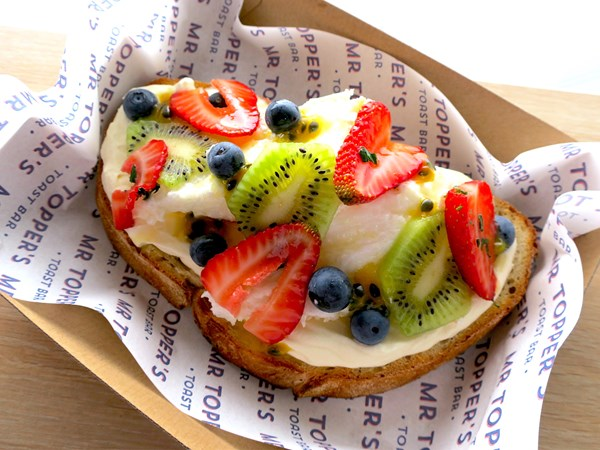 Pavlova on toast is a thing, and we can't get enough