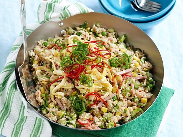 Chilli ham fried rice