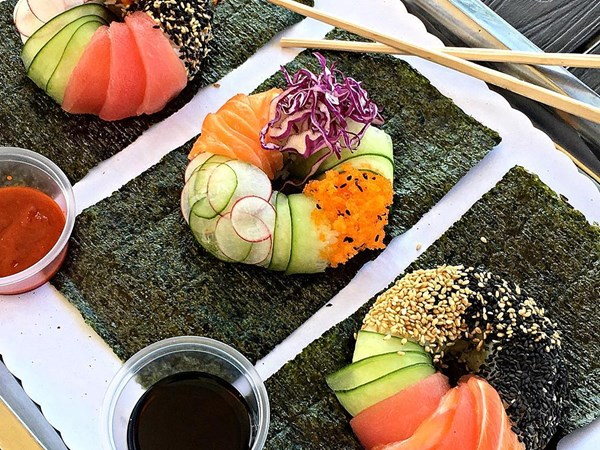 Why we love sushi donuts