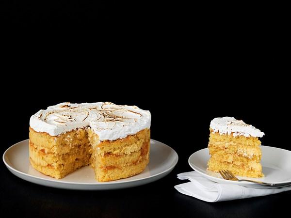 Monterey Coffee Lounge's coconut layer cake