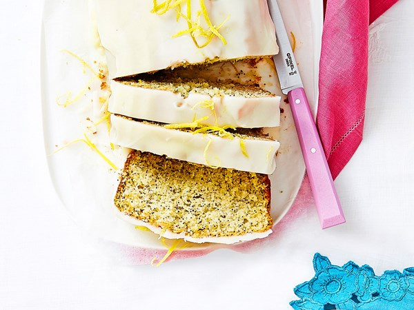 Lemon and poppy seed loaf