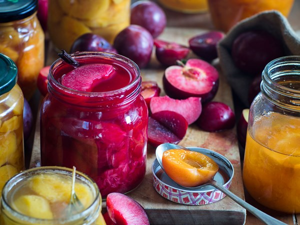 Fruit jars
