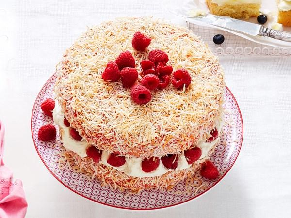 Giant jelly cake