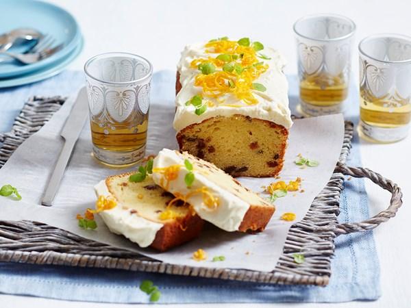 Orange and sultana madeira cake
