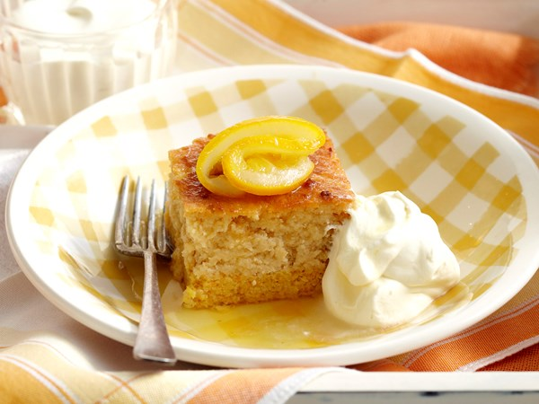 Flour-less lemon and orange layer cake
