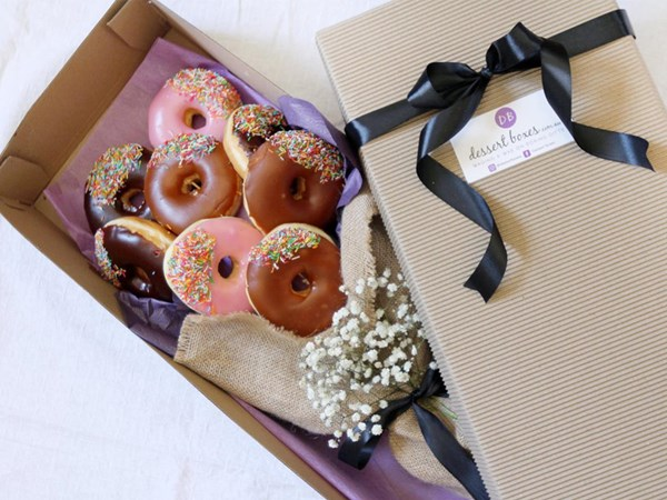 These doughnut bouquets will win hearts