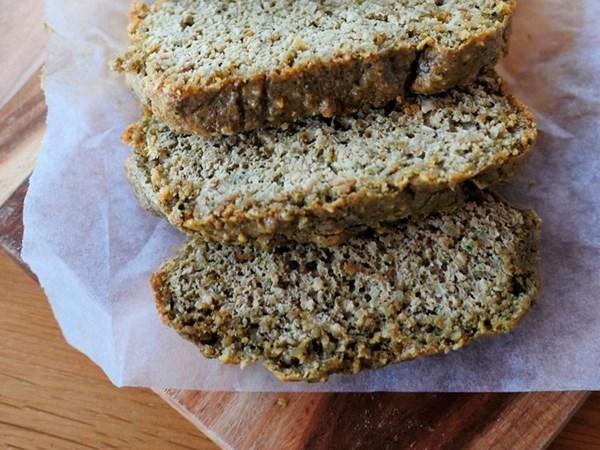 Paleo bread loaf