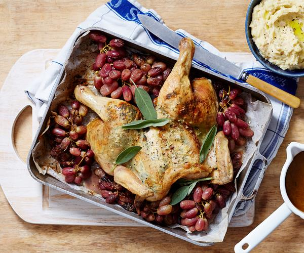 Chicken With Sage And Roast Grapes recipe   Food To Love