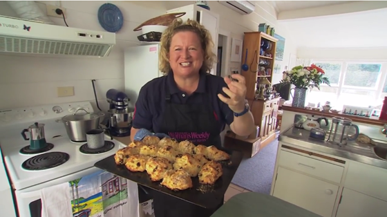 Annabelle White's perfect scone recipe