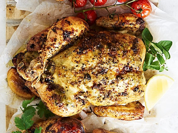 Asian-style roast chicken