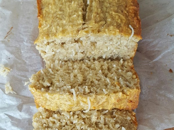 Gluten-free coconut banana bread