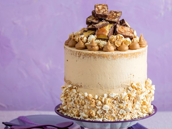 Extravaganza peanut cake