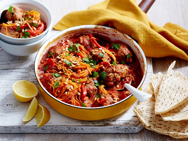 Turkish kofta casserole