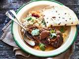 Easy oven-baked lamb curry