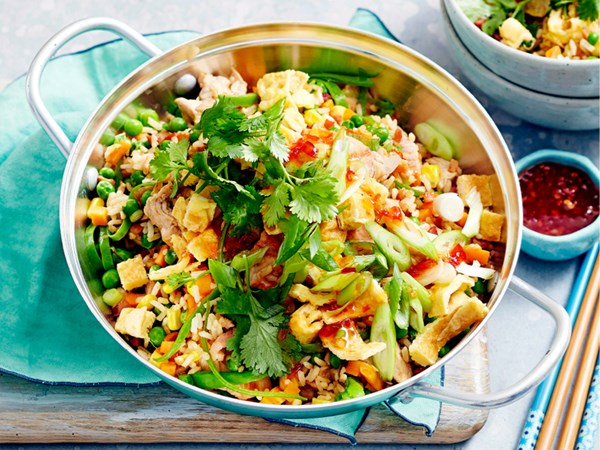 Quick special fried rice