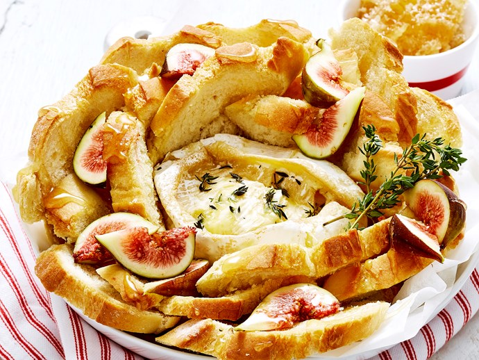 """Recipe: [Baked brie pull-apart cob](http://www.foodtolove.com.au/recipes/baked-brie-pull-apart-cob-34201 target=""""_blank"""")"""
