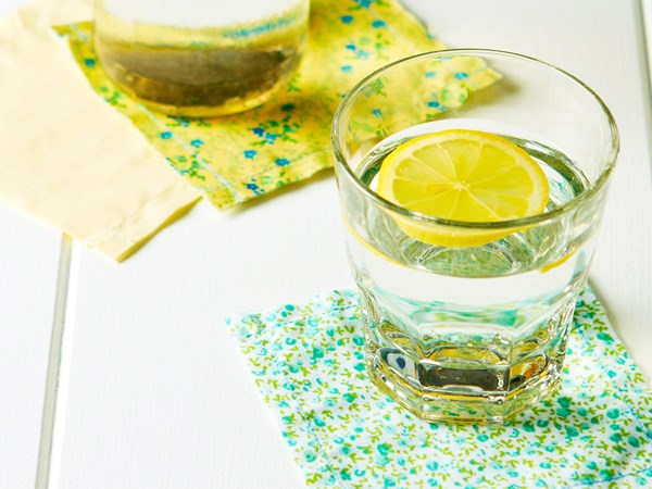 You may want to rethink that lemon slice in your drink