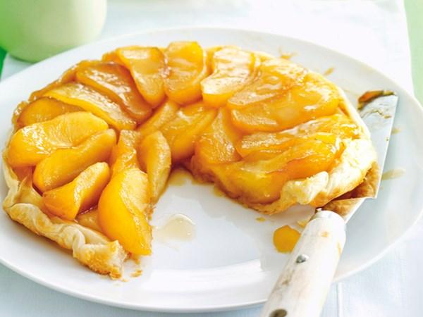 Low-fat apple tarte tatin