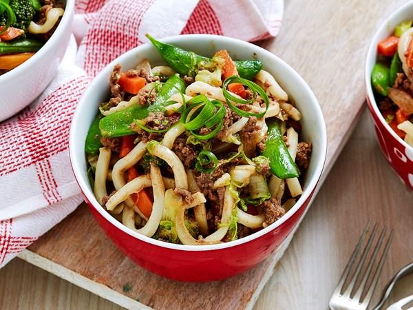 Quick chow mein noodles